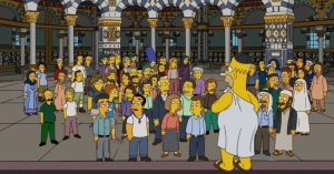 Homer in the Mosque