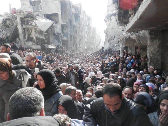Yarmouk Camp, Damascus 2014