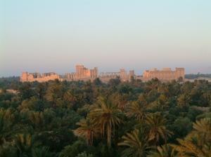 Palmyra, viewed from Tadmor