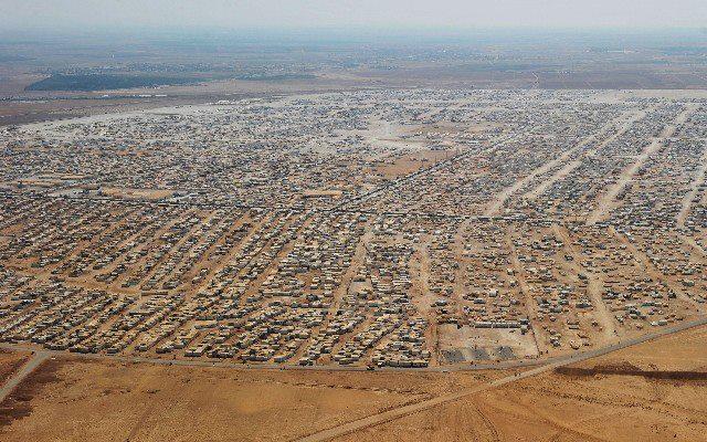 Zaatari Rrefugee Camp, Jordan