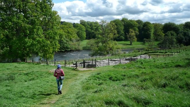 Adele walks down to the best Roman baths in Britain