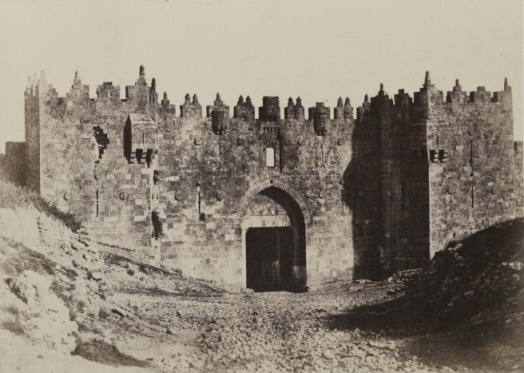 Damascus Gate in 1856