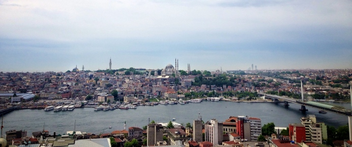 Istanbul, from Galata Tower