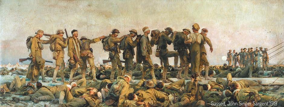 November 1918, the counterfeit peace