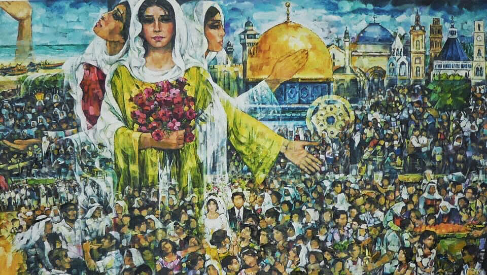 Visualizing the Palestinian Return – the art of Ismail Shammout